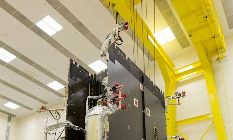 NOAA's GOES-S, T and U satellites are shaping up