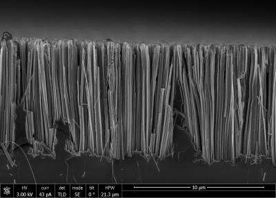 Obtaining of silicon nanowires becomes eco-friendly