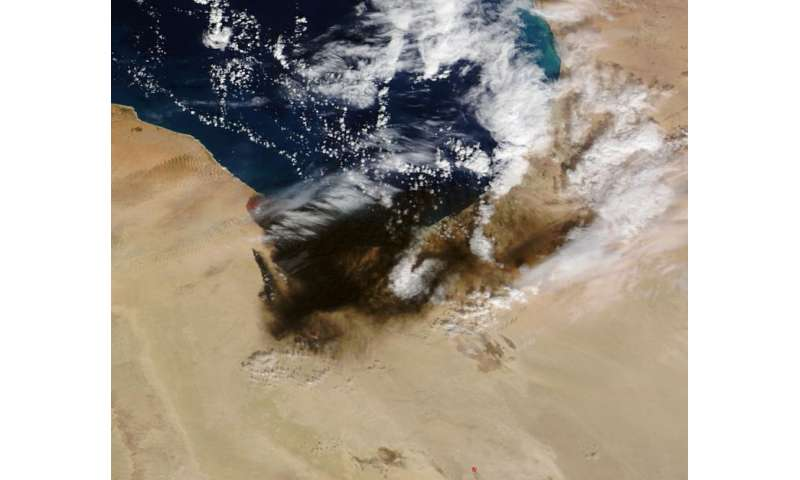 Oil fires in Libya continue