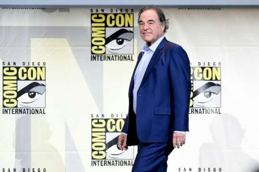 """Oliver Stone attends """"Snowden"""" panel during Comic-Con International on July 21, 2016 in San Diego, California"""