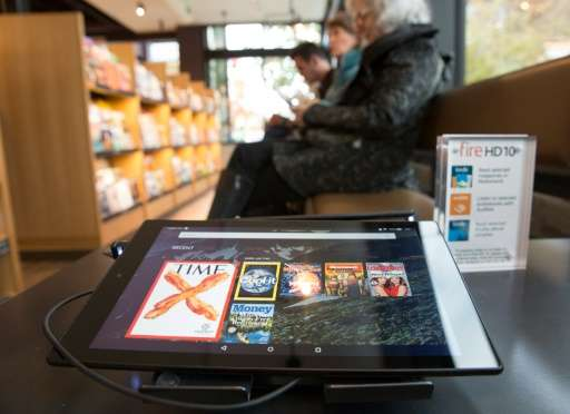 Online retail titan Amazon shipped a total of 3.1 million of its Fire tablets in the recently-ended quarter, with credit given t