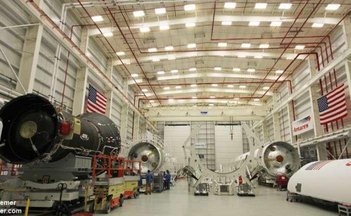 Orbital ATK integration of upgraded Antares kicks into high gear for 2016 'return to flight'