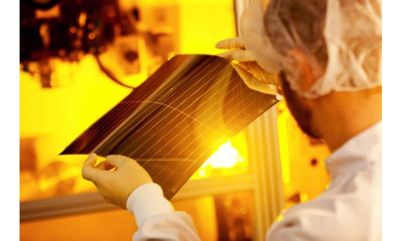 Organic photovoltaic cells: Heliatek claims conversion efficiency record