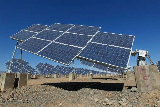 Overall spending on green energy rose 5% from 2014 to $286 billion, with China accounting for more than a third of total investm