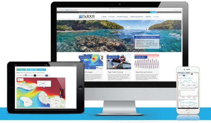Pacific Islands Ocean Observing System launches new website