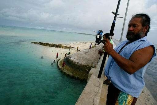 Pacific nation of Kiribati establishes large shark sanctuary