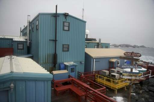 Palmer Station, the only US research station in Antarctica located north of the Antarctic Circle