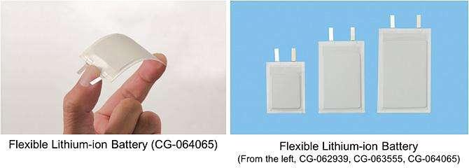 Panasonic develops bendable, twistable, flexible lithium-ion battery