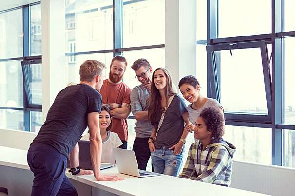 People view funny co-workers as competent and self-assured, study says