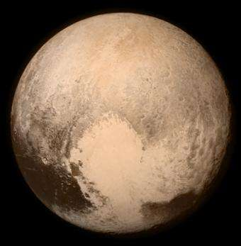 Pluto's 'heart' sheds light on a possible buried ocean