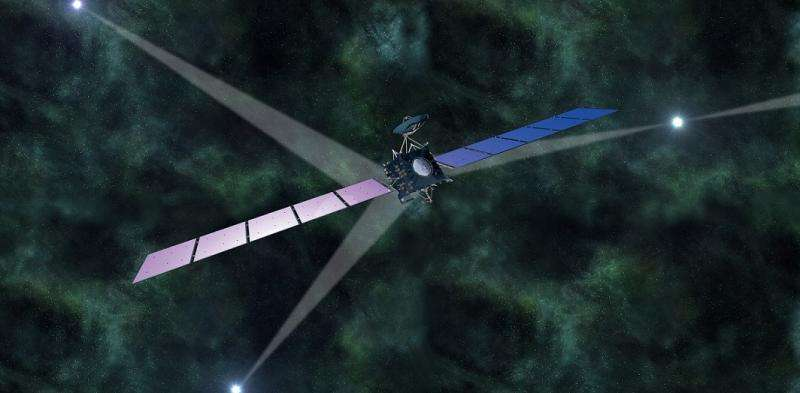 Pulsar-based spacecraft navigation system one step closer to reality