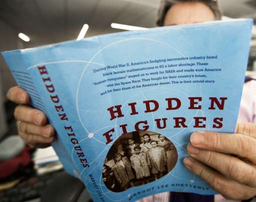 """""""Hidden Figures"""", by Margot Lee Shetterly, is the true story of Africian American female mathematicians at NASA whose"""