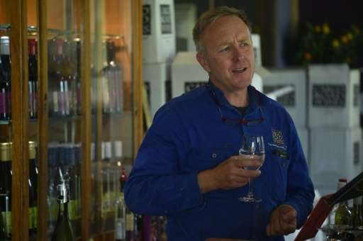 """I've been here for 20 years ... and we're seeing more severity in the weather,"" says winemaker James Sweetapple"