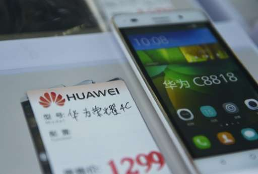 """We sell more devices than Samsung on the Chinese market,"" says Huawei consumer devices chief Richard Yu"