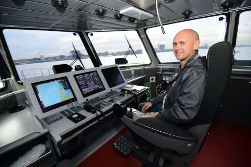 """""""With the Ocean Warrior, we have a ship that can outmatch any poaching vessel on the high seas,"""" said Alex Cornelissen"""