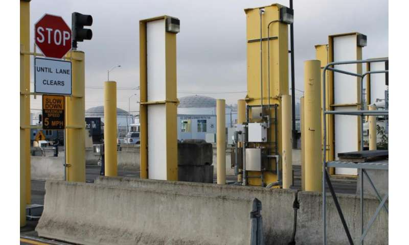Radiation detectors at U.S. ports of entry now operate more effectively, efficiently