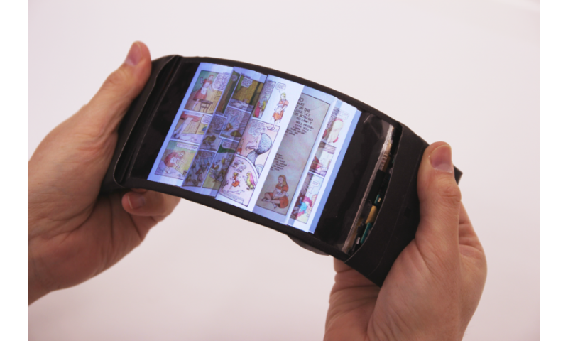 ReFlex: Revolutionary flexible smartphone allows users to feel the buzz by bending their apps