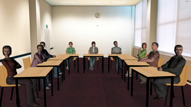 Rehearsing a speech to a virtual audience increases confidence