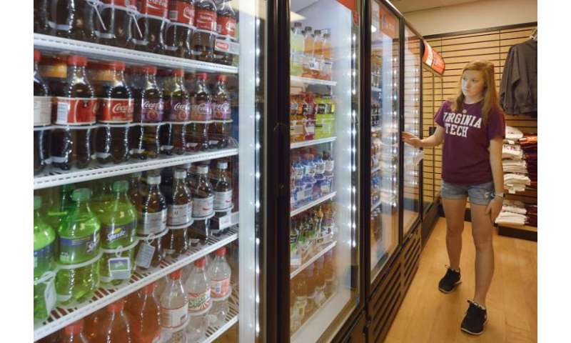 Replacing just one sugary drink with water could significantly improve health