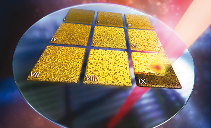 Researchers go for the gold on a single chip