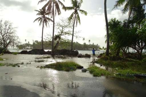Residents in low-lying areas of the Marshall Islands are braced for ongoing flooding, as a series of high tides underscores the