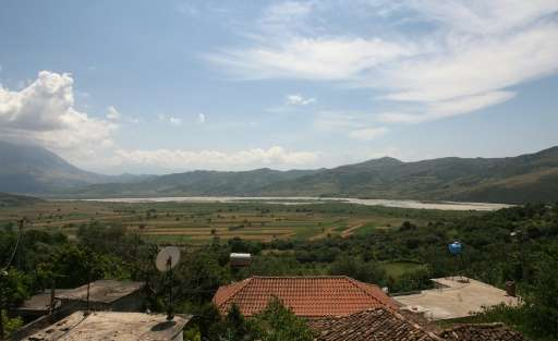 Residents of Kut, Albania fear the lake created by the new dam on the Vjosa river will engulf their fields and olive groves—even