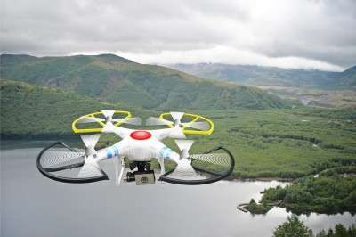Robotic drones to 'print' emergency shelters for those in need