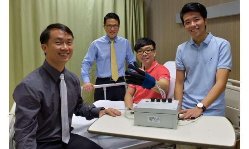 Robotic glove helps patients regain hand movements