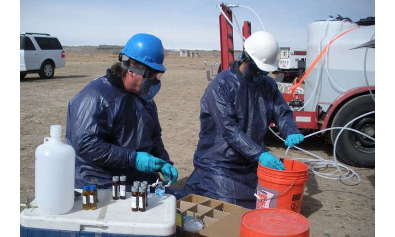 Rsearchers show fracking's impact to drinking water sources