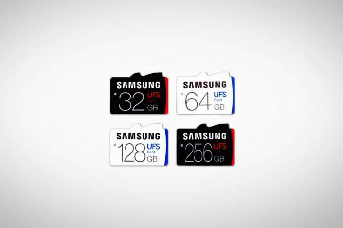 Samsung Introduces World's First Universal Flash Storage (UFS) Removable Memory Card Line-up