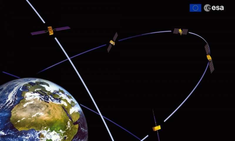 Satellites 11 and 12 join working Galileo fleet