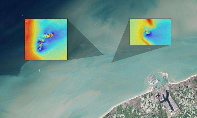 Satellites and shipwrecks: Landsat satellite spots foundered ships in coastal waters