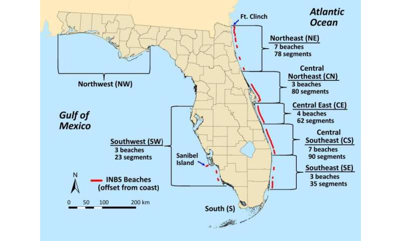 Satellites Show Florida Beaches Becoming Darker And That S Good For