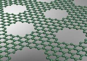 Scientists create graphene barrier to precisely control molecules for making nanoelectronics