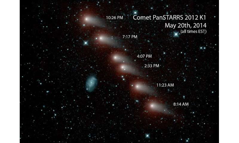 Scientists measure methyl alcohol emission from comet C/2012