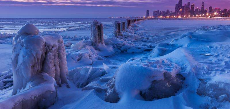 Sea ice loss likely no factor in cold Northern Hemisphere winters