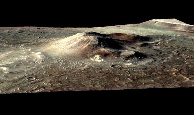 Seeking signs of life in an ancient Martian hot spring