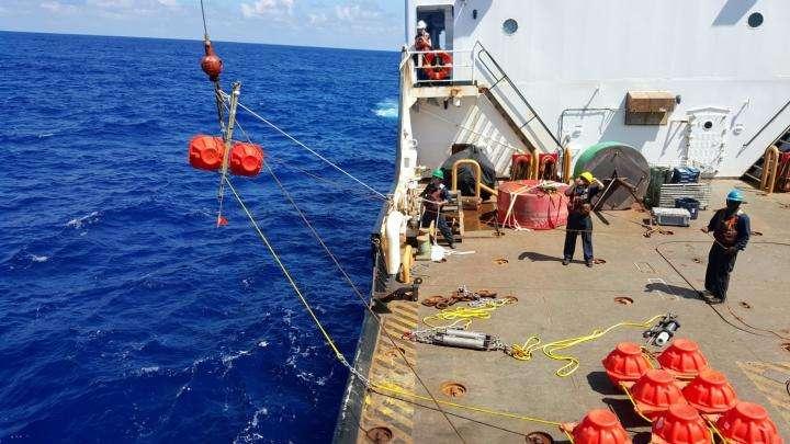 Seven miles deep, ocean still a noisy place