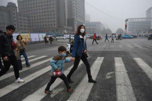 Shijiazhuang has seen 10 bouts of serious air pollution so far this winter, according to the China Daily newspaper