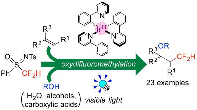 Simple Synthesis Of Cf2h Containing Organic Molecules