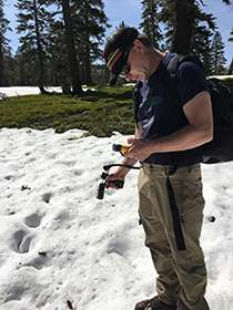 Slower snowmelt affects downstream water availability in western mountains