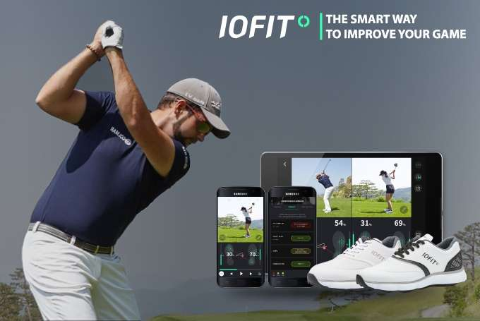Smart shoes check balance, weight shift for golfers