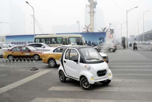 Smog-choked cities are fuelling a boom in electric vehicles in China, driving hopes for the industry's global future, with the w