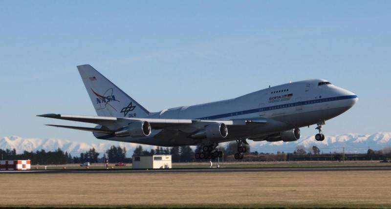 SOFIA heads to New Zealand to study Southern Hemispheric skies