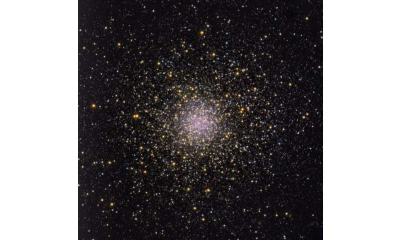 Image result for Ancient Globular Clusters Origin Supermassive Stars