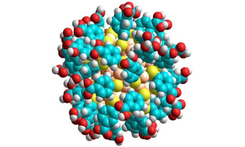 Solving a nanotechnology riddle – what makes gold atoms stick together