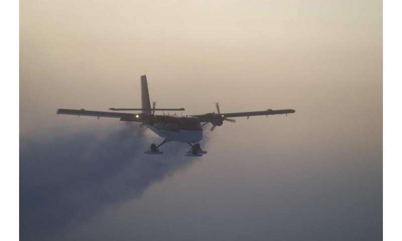 South Pole medical evacuation flight launched