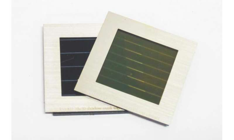 Stacked perovskite/CIGS solar module achieves unprecedented efficiency at 17.8 percent