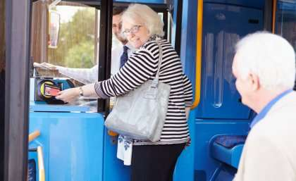 Staying social wards off depression when older women stop driving