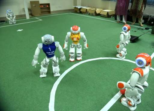 Students at Pakistan's National University of Science and Technology are sending their first team to the annual RoboCup, an even